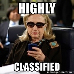 Hillary Clinton Texting - highly classified