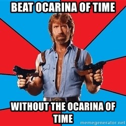 Chuck Norris  - Beat Ocarina of Time Without The Ocarina of Time