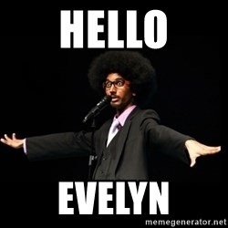 AFRO Knows - hello evelyn