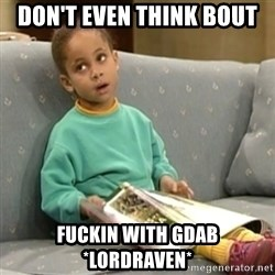 Olivia Cosby Show - don't even think bout fuckin with GDAB *lordraven*
