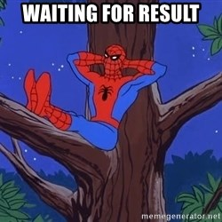 Spiderman Tree - Waiting for result