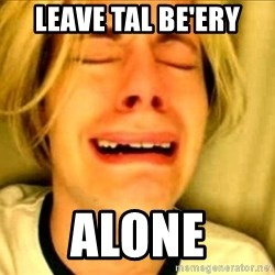 Leave Brittney Alone - Leave Tal Be'Ery alone