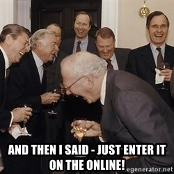 And Then I Said -  And then i said - just enter it on the online!