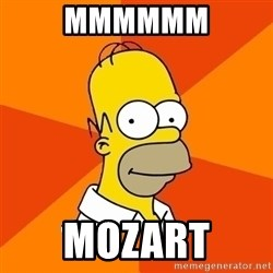Homer Advice - MMMMMM Mozart