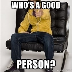 Justin Bieber Pointing - who's a good  person?