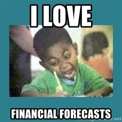I love coloring kid - I love FINANCIAL FORECASTS