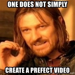 ODN - ONE does not simply create a prefect video