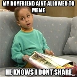 Olivia Cosby Show - My boyfriend aint allowed to meme He knows i dont share