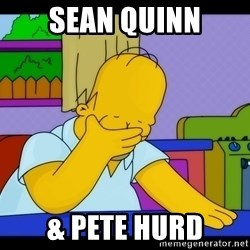 Homer Facepalm - Sean Quinn & PETE HURD
