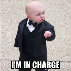 gangster baby -  I'm in charge
