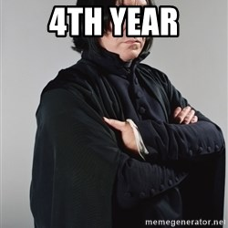 Snape - 4th year