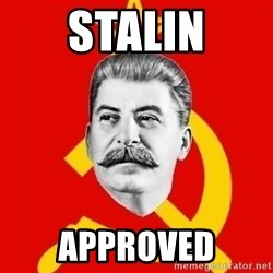 Stalin Says - STALIN Approved