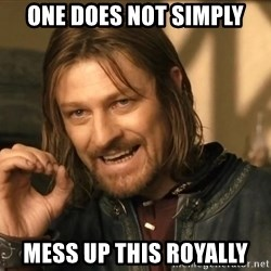 One does not simply HD - One does not simply mess up this royally