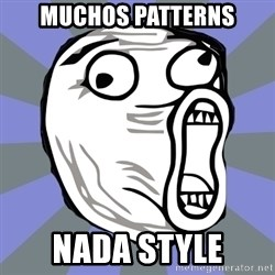 LOL FACE - MUCHOS PATTERNS NADA STYLE