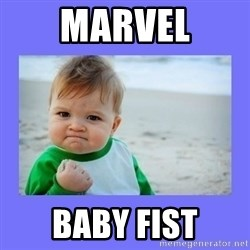 Baby fist - Marvel Baby fist