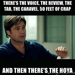 50 feet of Crap - There's the voice, the review, the tab, the caravel, 50 feet of crap and then there's the hoya