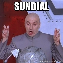 Dr. Evil Air Quotes - sundial