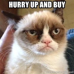 Grumpy Cat 2 - hurry up and buy