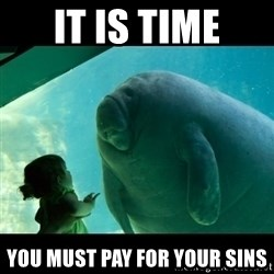Overlord Manatee - It is time you must pay for your sins