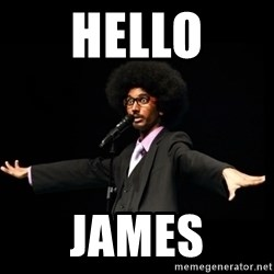 AFRO Knows - hello James