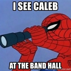 Spiderman Lunar Eclipse - I see caleb At the band hall