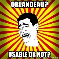 Yao Ming trollface - Orlandeau? usable or not?