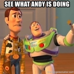 buzz lightyearr - See what Andy is doing