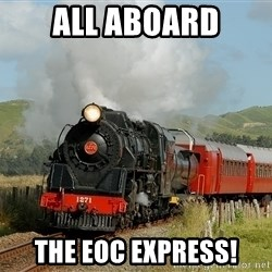 Success Train - all aboard the EOC Express!