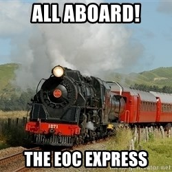 Success Train - ALL ABOARD! The EOC EXPRESS