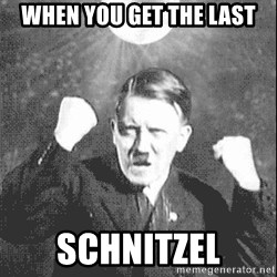 Disco Hitler - when you get the last schnitzel