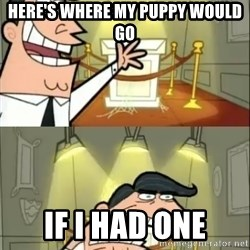 if i had one doubled - Here's where my puppy would go If I had one