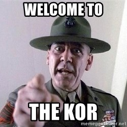 Military logic - Welcome to the KOR