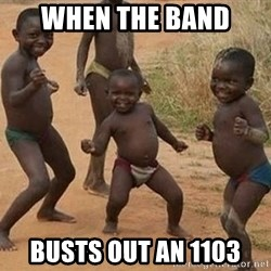 Dancing African Kid - When the band  Busts out an 1103