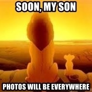 The Lion King - soon, my son photos will be everywhere