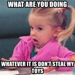 good luck charlie 09876543 - What are you doing Whatever it is don't steal my toYs
