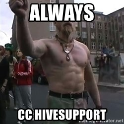 Techno Viking - always  CC hivesupport