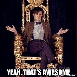 Hipster Doctor Who -  Yeah, That's Awesome