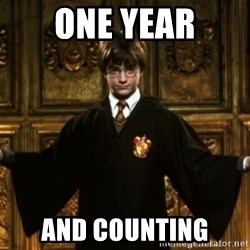 Harry Potter Come At Me Bro - One year and counting