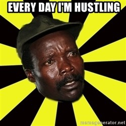 KONY THE PIMP -  every day i'm hustling