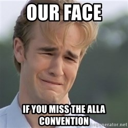 Dawson's Creek - OUr face  If you miss the alla convention