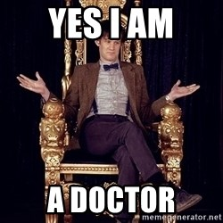 Hipster Doctor Who - yes i am a doctor