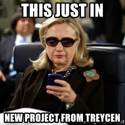 Hillary Clinton Texting - This just in new project from treycen