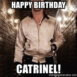 Ryan Gosling  - happy birthday catrinel!