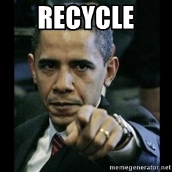 obama pointing - recycle