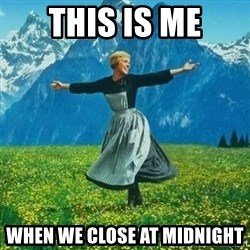 Julie Andrews looking for a fuck to give - This is ME When we close at midnight