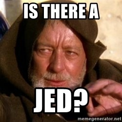 JEDI KNIGHT - is there a jed?