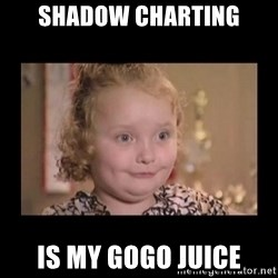 Honey BooBoo - Shadow charting Is my Gogo Juice