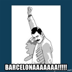 Freddy Mercury -  BARCELONAAAAAAA!!!!!