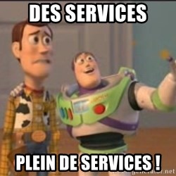 X, X Everywhere  - des services plein de services !