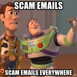 ToyStorys - Scam emails Scam emails everywhere